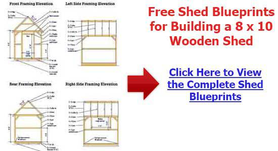 8×10 Shed Plans Free : How A Superb Storage Shed Plans Can