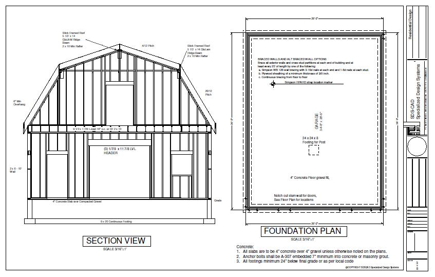 Barn Shed Plan : Pole Shed Plans