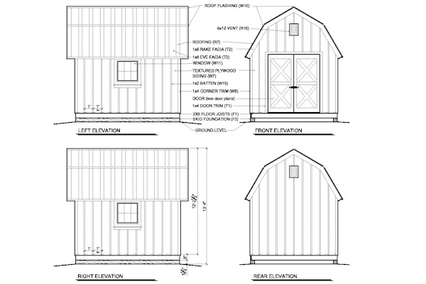 free 14 x 20 shed plans   rapidly advice in 10 u00d710 shed