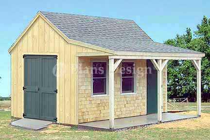 how to build a 6 x 14 shed