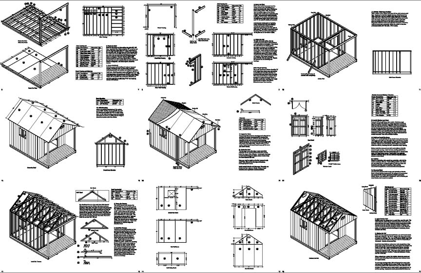Bobbs 20 x 14 shed plans for 20 x 40 shed plans