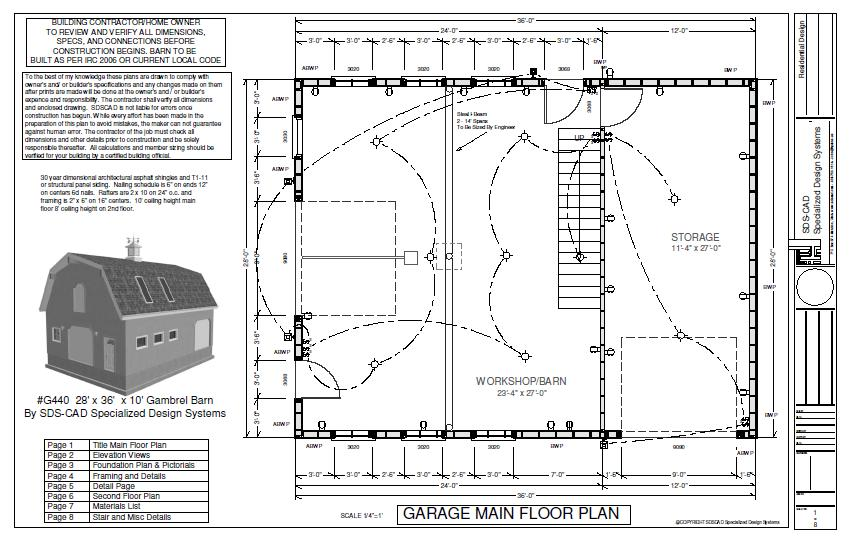 Free gambrel shed plans shed plans kits for Gambrel pole barn plans