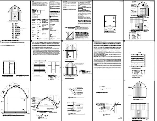 Gambrel shed plans free diy garden sheds brisbane for Free shed design software with materials list