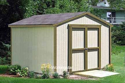 outdoor storage building plans
