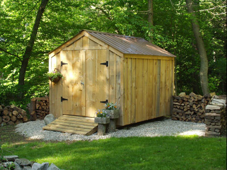 Free Yard Shed Plans The 10 X 12 At Same Time