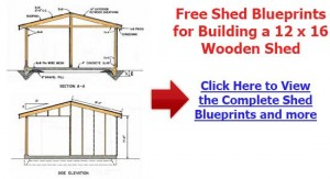 How To Build A Storage Shed Free Plans
