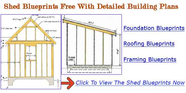 How To Build A Storage Shed Free Plans | Shed Plans Kits