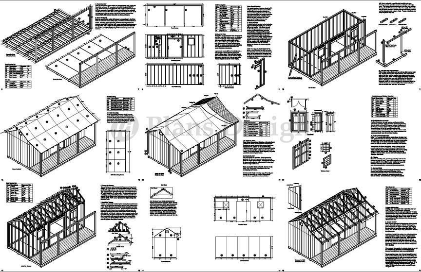 Awesome How To Build A Storage Shed Free Plans Shed Plans Kits Inspirational Interior Design Netriciaus