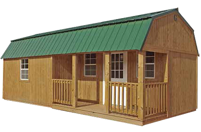 Lofted Barn Cabin What Do You Call For To Build A Wood