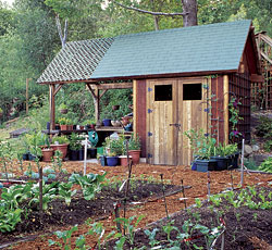 plans for potting and storage shed