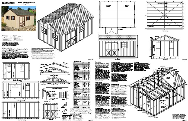 Shed blue print shed plans on the web almost each and for Barn blueprints free plans