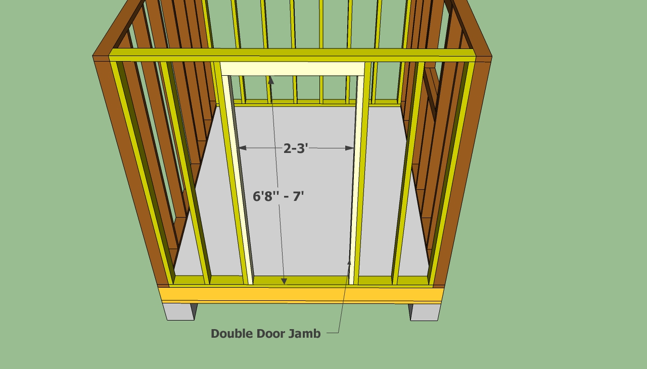 Shed Door Plans The Way To Build An Amish Shed Shed