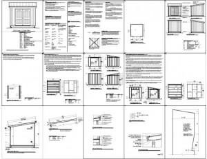 Shed Plans 10 X 10 Free