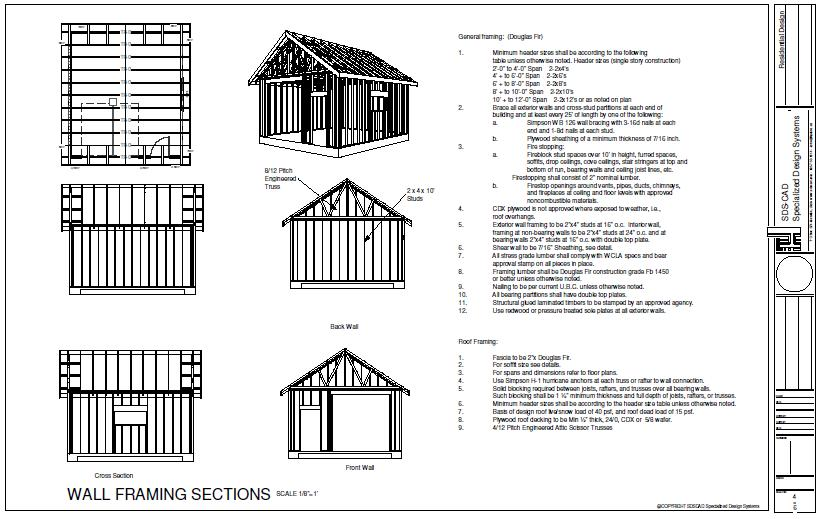 Shed plans 10 x 20 free all about barn shed plans shed for 20x30 garage plans
