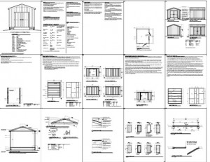 Shed Plans 12 X 10 Free