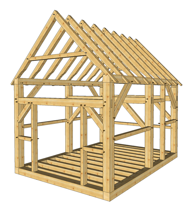 Shed Plans 12×16 : Build A Shed In A Weekfinish With My Shed Plans ...