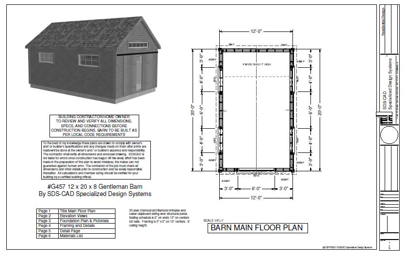 Do It Yourself Home Design: Shed Plans 12×20 : Potting Shed Plans