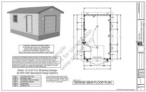 Shed Plans 12x20