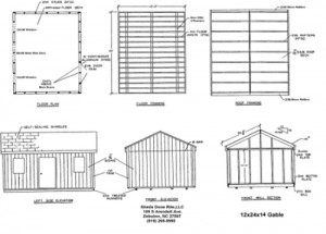 Shed Plans 12×24