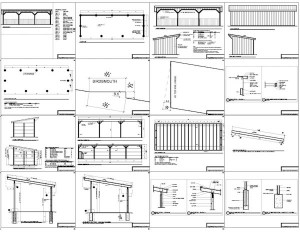 Shed Plans 12x36 : Americans Most Popular Shed Designs - The Top 5 Plans