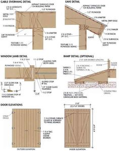 Shed Plans 12×36