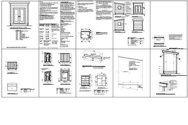 Shed Plans 6 X 8 Free Garden Shed Plans Explained Shed