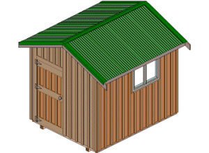 Shed Plans 8 X 10 Free