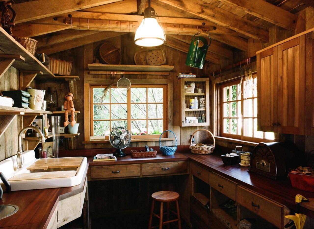 Garden Shed Interior : The Best Way To Landscape Around A ...