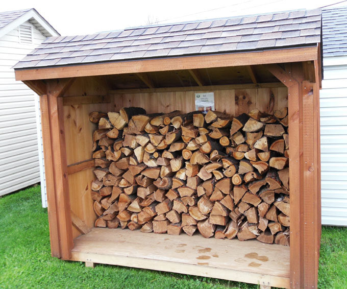 Wood Storage : Construct Your Own Shed With Wooden Garden ...